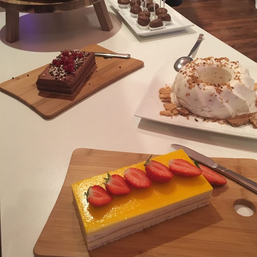 Dessert buffetten